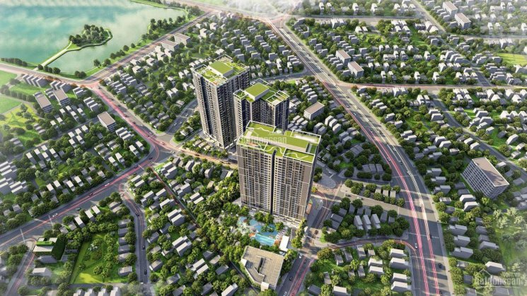 Bán căn 2PN 2VS diện tích 65.5m2 hướng ĐN tòa Tropical chung cư Feliz Homes hồ Đền Lừ trực tiếp CĐT ảnh 0