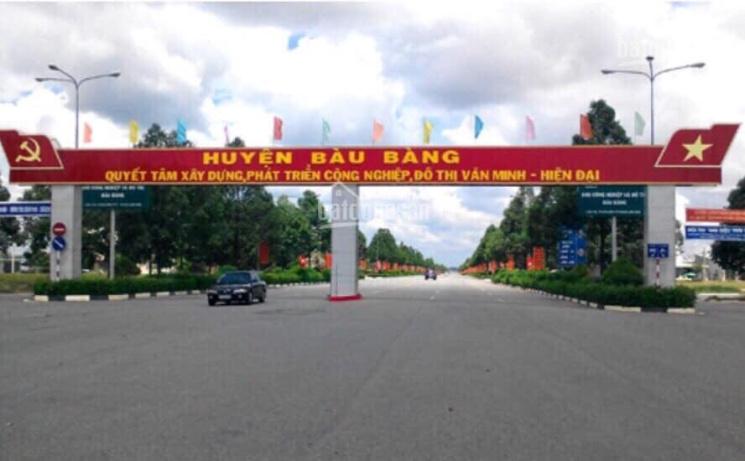 Đất trung tâm hành chính Bàu Bàng 80m2 thổ cư 100% trả chậm trong vòng 5 tháng, 0985815695 ảnh 0