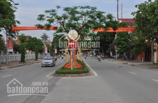 Bán lô đất nền biệt thự giáp ve tại TT Quán Lào, Thanh Hóa, DT 520m2, MT 14m, giá 3,9 triệu/m2 ảnh 0