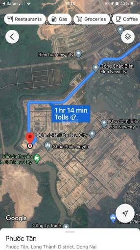 Đất nền Biên Hoà New City, 100m2, hướng Đông Bắc, ngay sân golf, sân bay Long Thành, đường 13m ảnh 0