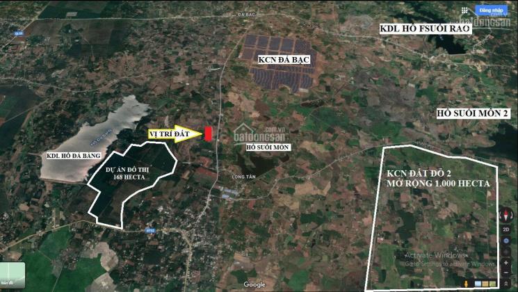 Bán đất nền KDC Núi Thơm cạnh KDL Hồ Đá Bàng - BRVT ảnh 0