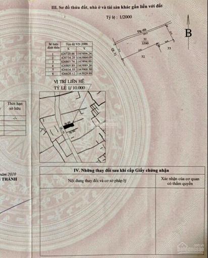 Nền góc 2 mặt tiền QL51, đi Vũng Tàu (35m mặt tiền QL51, 100m mặt tiền đường nhựa 6m) ảnh 0