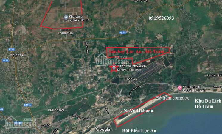 Đất nền Bà Rịa VT- đã có sổ sang tên ngay chỉ trên dưới 1 tỷ gần sân bay Lộc An và biển Hồ Tràm ảnh 0