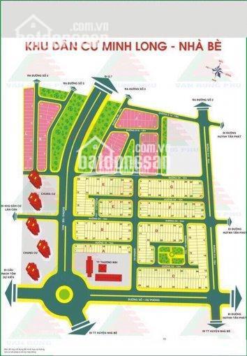 Bán đất nền dự án KDC Minh Long - Phú Xuân - Nhà Bè giá tốt đầu tư ảnh 0