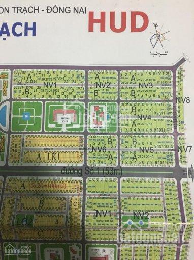 Bán nền nhà phố đường 20m, DT 120m2, thuộc dự án HUD Nhơn Trạch, Đồng Nai, liên hệ: 0907155719 ảnh 0