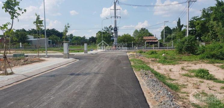 Kẹt tiền cần bán lô đất ngay KDC Phú Hòa Đông, Củ Chi. 1.3tỷ/100m2 đường nhựa 8m LH 0702694658 ảnh 0