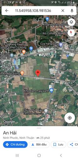 Bán 1000m2, sau lưng tái định cư Long Bình, (gần quán ăn Ngô Đồng) An Hải, Ninh Phước, Ninh Thuận ảnh 0