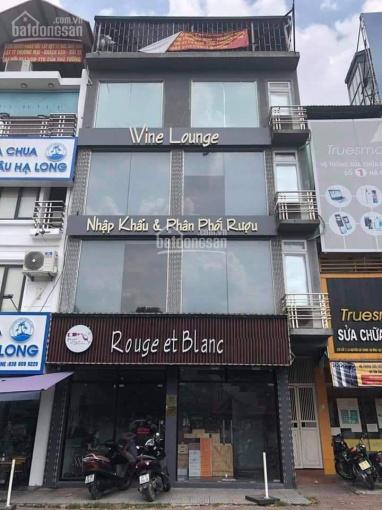 Cho thuê nhà mặt phố Trung Hòa. Diện tích 140m2 x 5 tầng, mặt tiền 6m hè rộng, kinh doanh mọi LV ảnh 0