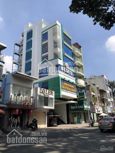 Bán tòa nhà văn phòng đường Thành Thái, Q. 10, DT 6.5 x 41m hầm + 6 lầu. Giá: 38 tỷ TL ảnh 0