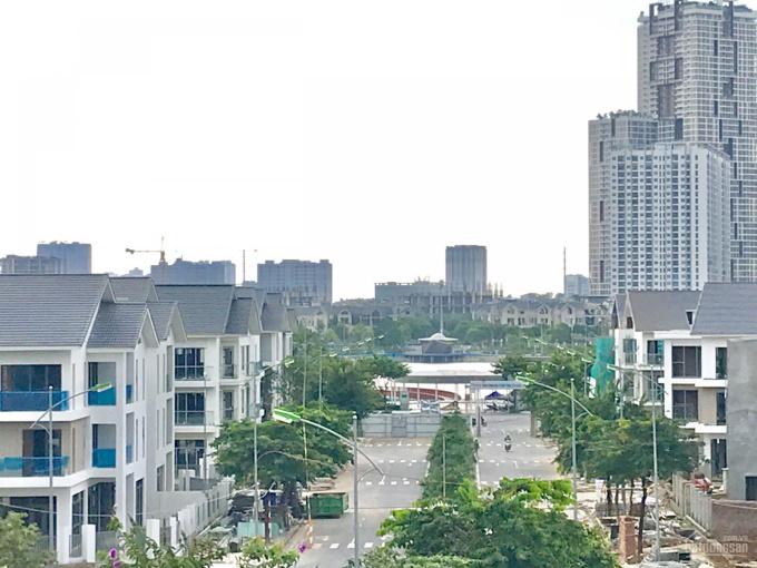 Cho thuê lâu dài lô góc biệt thự đường 28 mét tại khu đô thị mới Dương Nội gần Aeon Mall Hà Đông ảnh 0