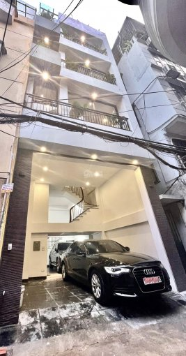 Bán nhà phân lô Vĩnh Phúc 12 tỷ 60m2 xây mới 6 tầng mới đẹp thang máy ngõ rộng gara 2 ô tô ảnh 0