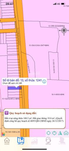 Đất đầu tư giá rẻ mùa dịch 650tr/100m2, sổ riêng từng nền, sân bay quốc tế Long Thành, 0349895942 ảnh 0