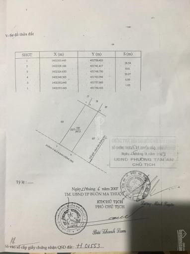 Chính chủ bán đất mặt tiền Y Blo E Ban, TP Buôn Ma Thuột. LH 0983.877458 ảnh 0