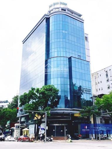 Bán toà building văn phòng Đại Cồ Việt, Q. Hai Bà Trưng, 525m2 x 11 tầng, lô góc, vỉa hè rộng ảnh 0