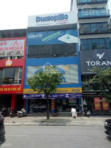 Cho thuê nhà phố nhánh đường Hoàng Quốc Việt, diện tích 115m2 x 4 tầng, mặt tiền 6m hè rộng ảnh 0