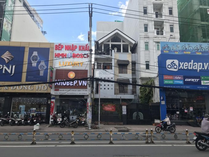 Bán nhà mặt tiền đường Nguyễn Thị Thập, phường Tân Quy, Quận 7, 8x27m, kinh doanh đỉnh ảnh 0
