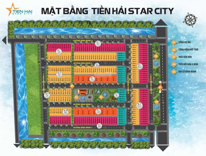 Tiền Hải Star City CK 4% tặng ngay 20tr ngay khi mua, giá thấp hơn thị trường 3 - 4tr/m2 0965369835 ảnh 0