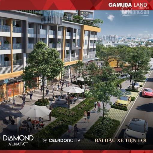 Bán nhanh căn Shophouse ngay mặt tiền 62m2 Celadon City, sổ hồng lâu dài, cam kết lợi nhuận 6%/năm ảnh 0