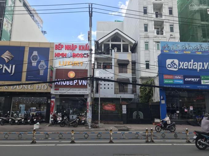 Kẹ tiền bán gấp nhà mặt tiền Nguyễn Thị Thập, gần Lotte Mart, Quận 7, DT 4.5x37m, 1L, 34,5 tỷ ảnh 0
