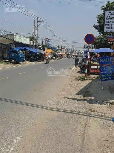 Do kẹt tiền nên tôi cần bán gấp lô đất mặt tiền Hùng Vương, xã Phú Đông, giá rẻ, gần phà Cát Lái ảnh 0