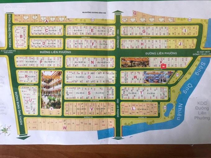 Bán nhanh đất nền Sở Văn Hóa Thông Tin, Lô T DT 5x20m giá 66tr/m2, gần trường học. LH 0962047755 ảnh 0