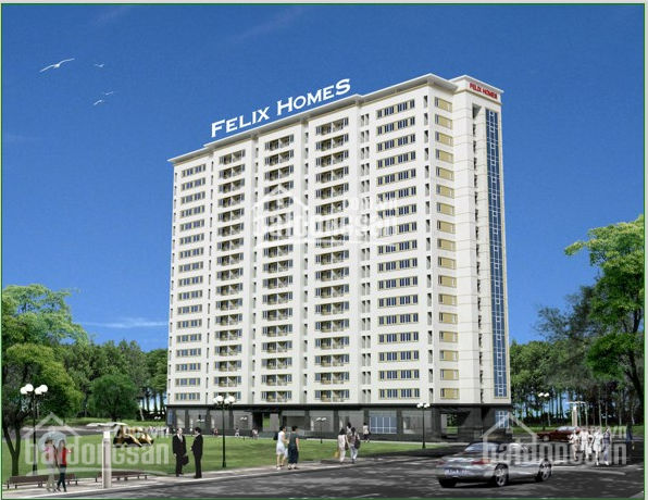 Cho thuê căn hộ chung cư Felix Homes, 54m2, 2PN, full nội thất, giá 8tr/tháng ảnh 0