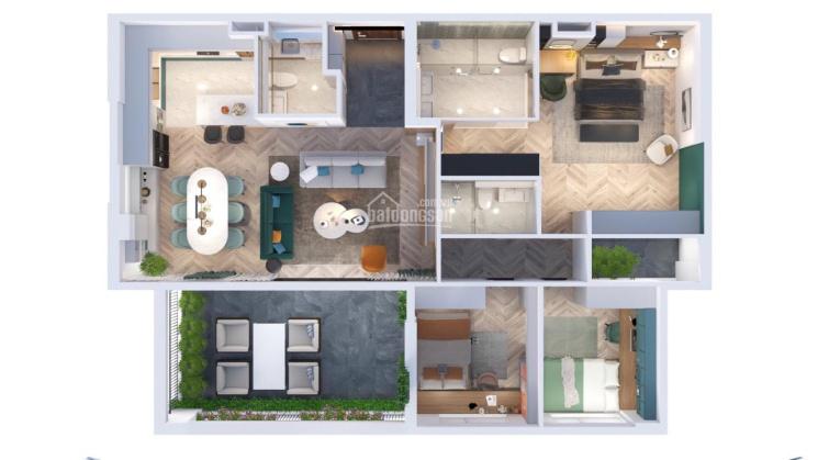 Bán penthouse sân vườn tại Green River Q. 8 - thanh toán theo tiến độ ảnh 0