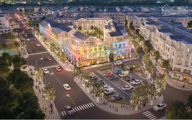 Mở bán shophouse - Vinhomes Cầu Rào 2 lô góc 250m2 giá 25 tỷ, trung tâm dự án, kinh doanh