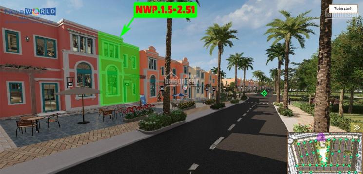 Shophouse khan hiếm - 2 mặt tiền - vốn chỉ 2.2 tỷ - trục đường xuyên tâm dự án NovaWorld Phan Thiết ảnh 0