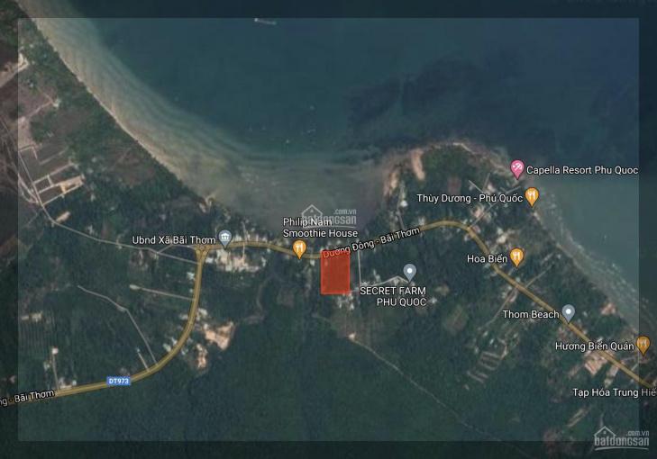 6860m2 Đất Bãi Thơm, Phú Quốc tựa núi hướng biển, quy hoạch khu du lịch sinh thái ảnh 0