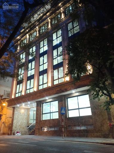 Bán nhà mặt phố Thái Thịnh 130m2, 9 tầng, 1 hầm chính chủ ảnh 0