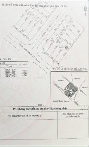 Bán đất hẻm 135 Lê Quang Định, Tp Vũng Tàu, 100m2 (5x20m) hẻm 11m vỉa hè. Giá 6,9 tỷ TL ảnh 0