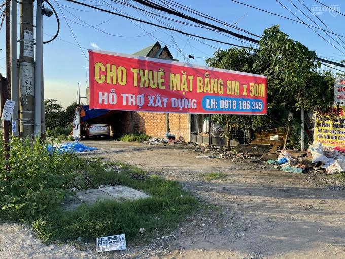 Cho thuê đất mặt tiền Quốc Lộ 1A, 8m x 50m, thị trấn Trảng Bom ảnh 0