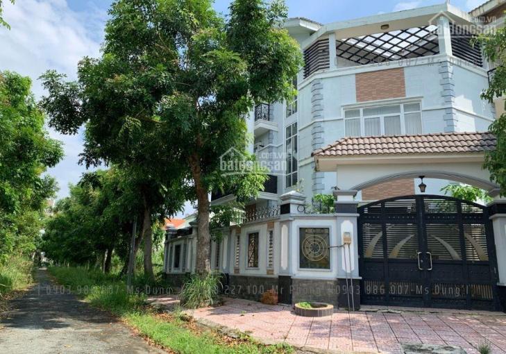 Bán đất biệt thự khu dân cư 13C Phong Phú Bình Chánh, cách trường quốc tế AES 50m, 268m2, đã có sổ ảnh 0