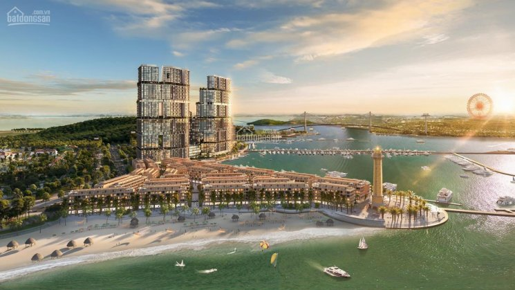 Quỹ căn vip studio và 3PN view vịnh - du thuyền - Domino 110 tầng, Sun Marina Town, Hạ Long ảnh 0