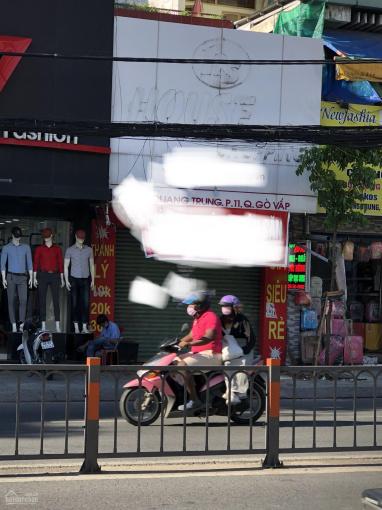 Mặt tiền kinh doanh Quang Trung, P11, GV, 4,4x21m 1 lầu đoạn kinh doanh sầm uất đối diện chợ ảnh 0