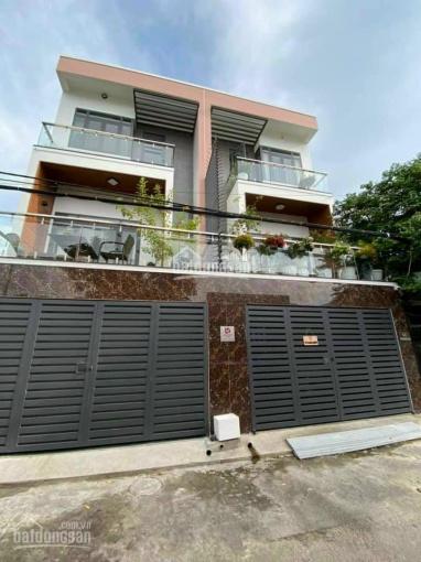 Bán nhà siêu đẹp 3 lầu ngay sau lưng toà nhà Becamex - P Phú Hòa 1 - TDM - BD. Giá chỉ 4.8 tỷ ảnh 0