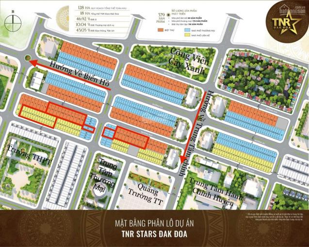 Đầu tư đất nền gần sân Golf FLC Tại TNR Stars Đak Đoa - 0965.268.349 ảnh 0