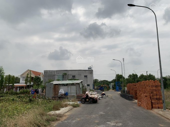 Chính chủ nhượng gấp lô đất 3 mặt tiền tại Quốc lộ 1A, Bình Chánh, sổ hồng riêng. Xây dựng tự do ảnh 0