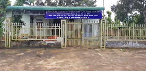 Thanh lý nhà cấp 4 tại xã Ea Hu, huyện Cư Kuin, tỉnh Đắk Lắk - DT 400m2 có 200m thổ - giá 680 triệu ảnh 0