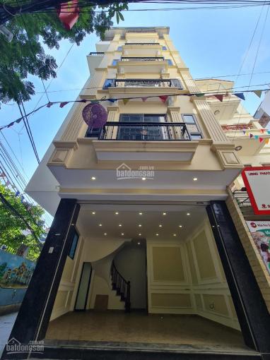 Chính chủ cần bán nhà mặt ngõ kinh doanh quận Cầu Giấy, DT 40m2 x 7 tầng, lô góc, ôtô 7 chỗ vào nhà ảnh 0