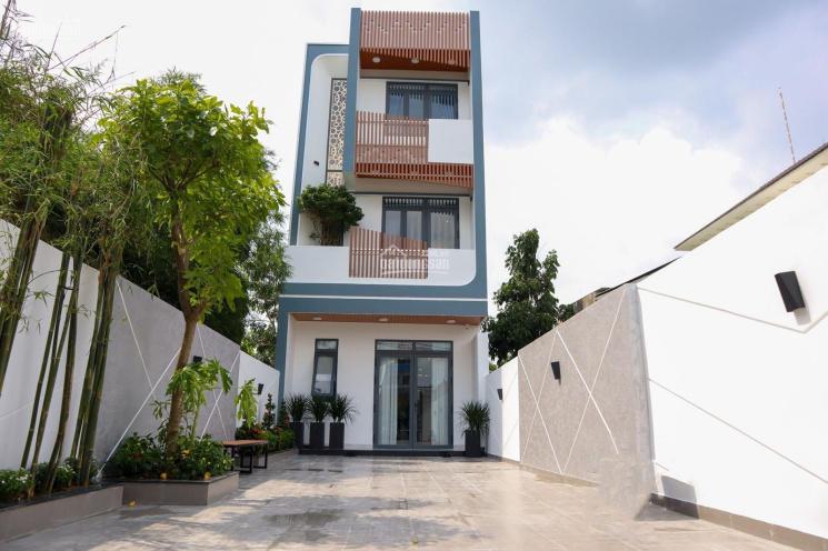 Nhà full NT, thiết kế cực sang chảnh, mặt tiền nhựa 7m, thông sân đậu 2 xe ô tô, DT 5x25m, TC 60m2 ảnh 0