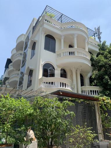 Biệt thự 2 mặt tiền nội bộ đường Hồ Văn Huê, P9, Q Phú Nhuận. 8x16m trệt 3 lầu, giá tốt ảnh 0
