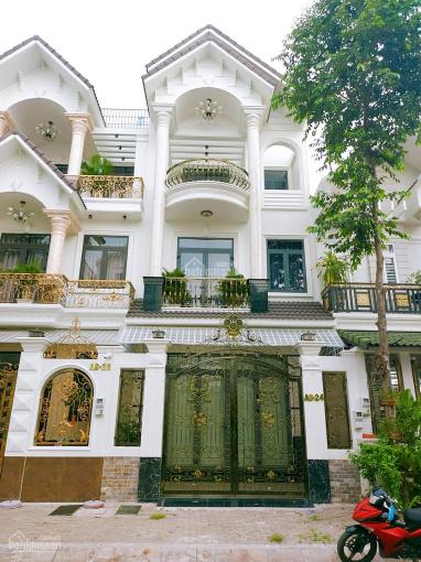 Bán nhà khu Nam Long, trệt 2 lầu 3 mâm đúc đường Số 1 kế hồ cảnh quan, sổ hồng hoàn công ảnh 0