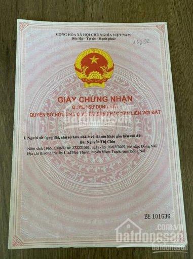 Bán đất giá rẻ ngay chợ Đại Phước, Nhơn Trạch - Đồng Nai, phù hợp kinh doanh, mua bán sầm uất ảnh 0
