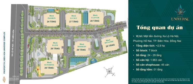 Biên Hòa Universe Complex - căn hộ smarthome đẳng cấp ngay trung tâm TP Biên Hoà, LH 0903032319 ảnh 0