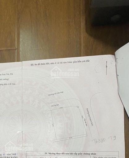 Bán góc Võ Văn Kiệt và An Trung Đông 7 - An Hải Đông - Sơn Trà, DT: 515,4m2 giá tốt nhất, chính chủ ảnh 0