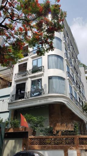 Bán tòa nhà 140 m2 x 8 tầng lô góc đường ô tô tránh Nghĩa Tân, Tô Hiệu, Cầu Giấy, 32,8 tỷ có TL ảnh 0