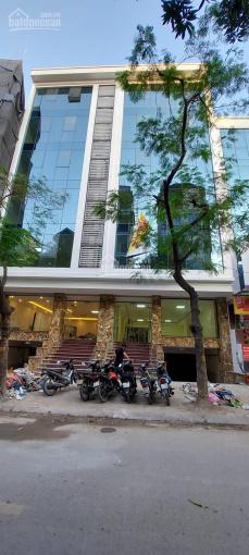 Chính chủ bán lô góc phố Trần Thái Tông 121m2 x 9 tầng MT 12m, dòng tiền 120tr/tháng. Nhỉnh 50 tỷ ảnh 0