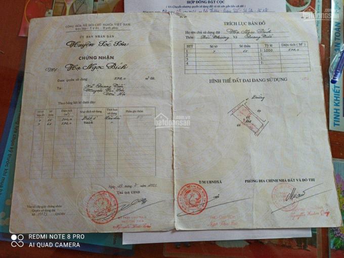 Cần bán 81m2 mặt tiền 4.5m trục chính Ấp Bắc Thượng, Quang Tiến - Sóc sơn Lh 0326366246 ảnh 0